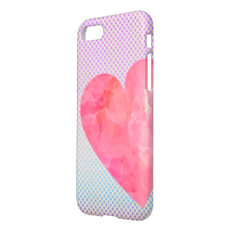Watercolour Heart iPhone Case