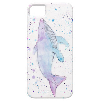 Watercolour Humpback Whale IPhone 5/5s Case