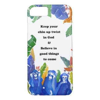 Watercolour-iphone case-Good things to come iPhone 7 Case