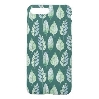 Watercolour Leaves Pattern iPhone 7 Plus Case