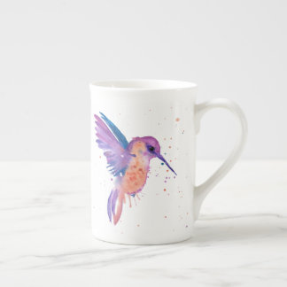 Watercolour Painting Hummingbird Mug