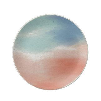 Watercolour Plate Porcelain Plates
