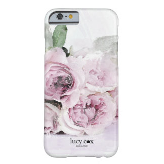 Watercolour roses barely there iPhone 6 case