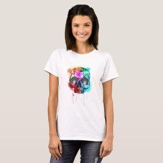 Watercolour Skull T-Shirt