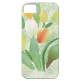 Watercolour tulip flowers, original artwork iPhone 5 case