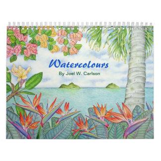 Watercolours Calendar