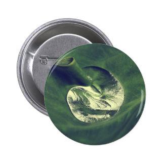 Waterdrop 6 Cm Round Badge