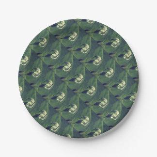Waterdrop Paper Plate