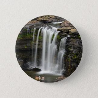 Waterfall 2 6 cm round badge