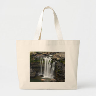 Waterfall 2 large tote bag