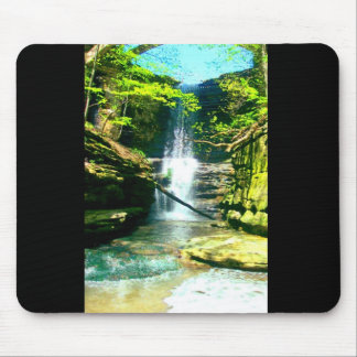 Waterfall 2 mouse pad