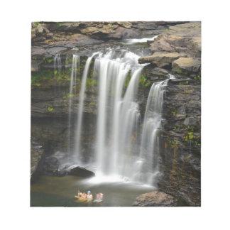 Waterfall 2 notepad
