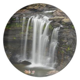 Waterfall 2 plate