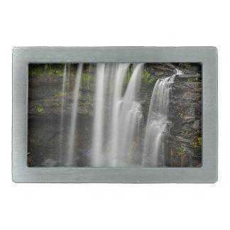 Waterfall 2 rectangular belt buckles