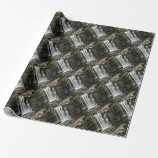 Waterfall 2 wrapping paper