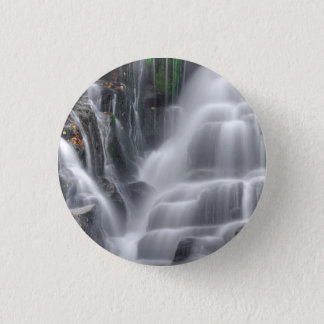 Waterfall 3 Cm Round Badge