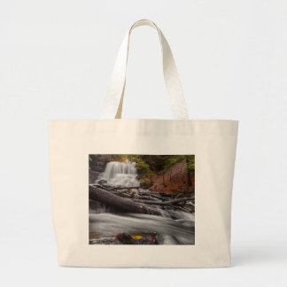 Waterfall 3 large tote bag