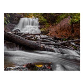 Waterfall 3 postcard