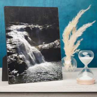 Waterfall 8x10 With Easel Plaque