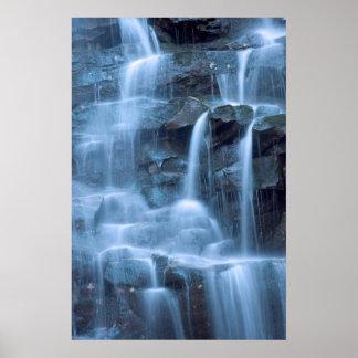 Waterfall Abstract   Print