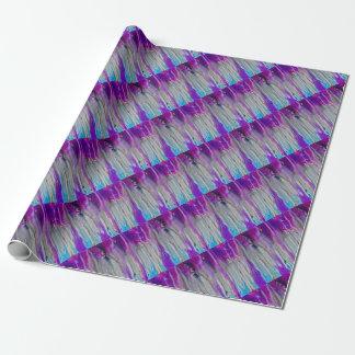 Waterfall Abstract Wrapping Paper