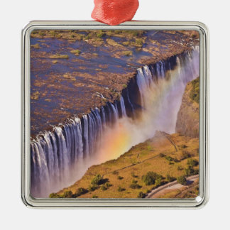WATERFALL AFRICA ZAMBIA METAL ORNAMENT