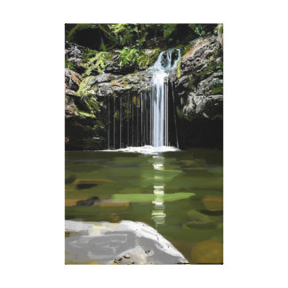 Waterfall Alabama High Falls Canvas Print
