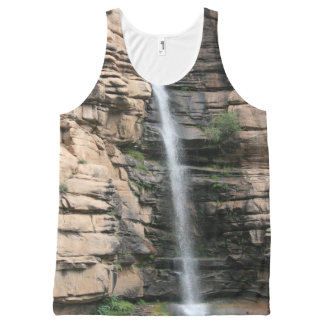Waterfall All-Over Print Singlet
