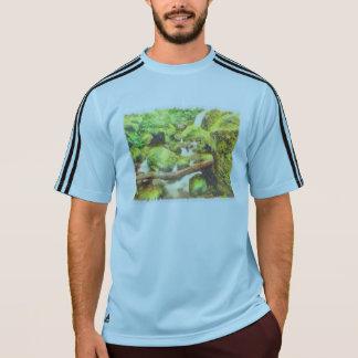 Waterfall and greenery T-Shirt