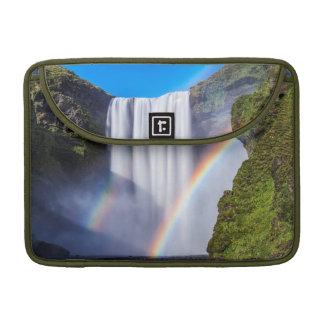 Waterfall and rainbow sleeve for MacBooks