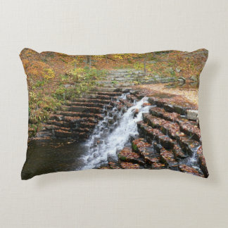 Waterfall at Laurel Hill State Park II Accent Cushion