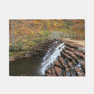 Waterfall at Laurel Hill State Park II Doormat