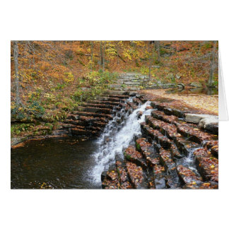 Waterfall at Laurel Hill State Park II Greeting Card