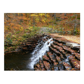Waterfall at Laurel Hill State Park II Postcard