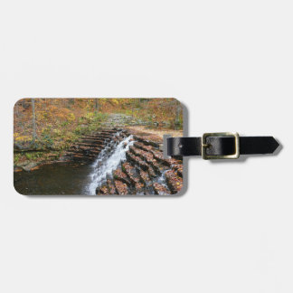Waterfall at Laurel Hill State Park II Travel Bag Tag
