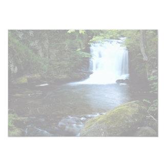 "Waterfall at Watersmeet, North Devon, England 5"" X 7"" Invitation Card"