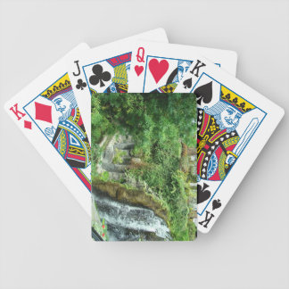 Waterfall Bicycle Playing Cards