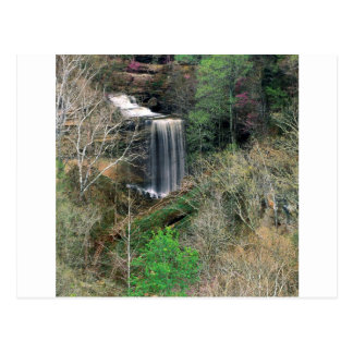 Waterfall Big Cliftymadison Indiana Postcard