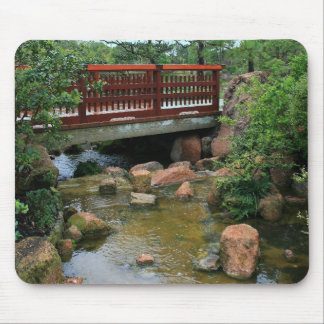 Waterfall Bridge Mouse Pad