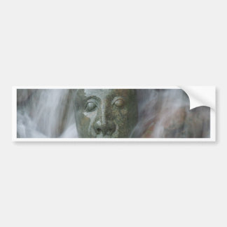Waterfall Buda Bumper Sticker