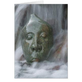 Waterfall Buda Card