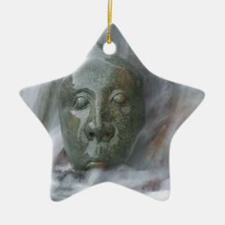 Waterfall Buda Ceramic Ornament