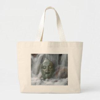 Waterfall Buda Large Tote Bag