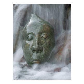 Waterfall Buda Postcard