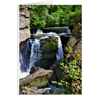 Waterfall Card