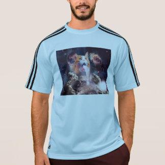 waterfall cat - cat fountain - space cat T-Shirt