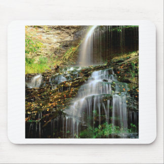Waterfall Cathedral West Virginia Mousepad