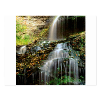 Waterfall Cathedral West Virginia Postcard