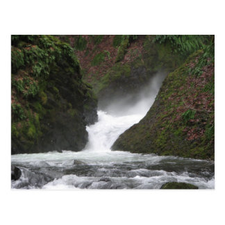 Waterfall Columbia Gorge Postcard