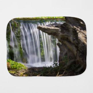 Waterfall Focused Burp Cloth